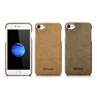 【ICARER】神州系列  iPhone 7 4.7 金屬戰士 手工真皮保護套(IPHONE 7 4.7 專用)
