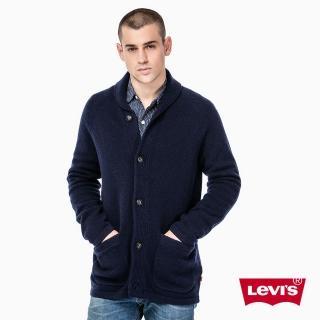 【Levis】男款羊毛外套 / 藏藍 - Levis
