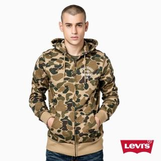 【Levis】男款時尚刷毛 / 連帽外套 / 迷彩