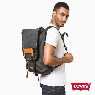 【Levis】男款Commuter  / 後背包 / 手提 / 灰色 - Levis