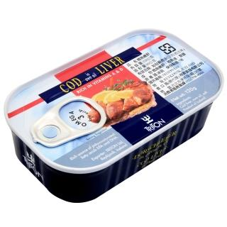 【冰島】鱈魚肝-藍鐵罐(120g)