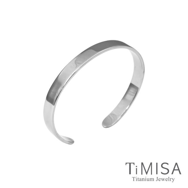 【TiMISA】至愛品藏 純鈦手環(M號)