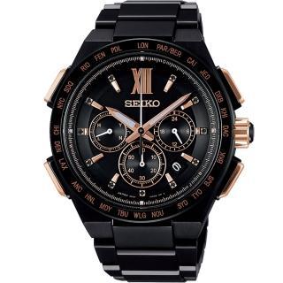 【SEIKO 精工】Brightz 太陽能電波限量腕錶(8B92-0AH0SD  SAGA214J)