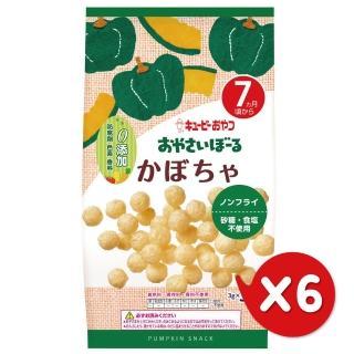 【日本KEWPIE】S-2寶寶果子球-南瓜(6包組)