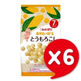 【日本KEWPIE】S-3寶寶果子球-玉蜀黍(6包組)