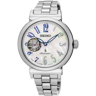 【SEIKO】精工 LUKIA 美好時光機械女錶-珍珠貝/36mm(4R38-01E0S  SSA839J1)
