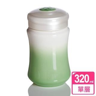 【乾唐軒活瓷】微笑曲線隨身杯 / 白果綠 / 小 / 單層