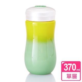 【乾唐軒活瓷】甜心隨身杯 / 黃綠 / 中 / 單層