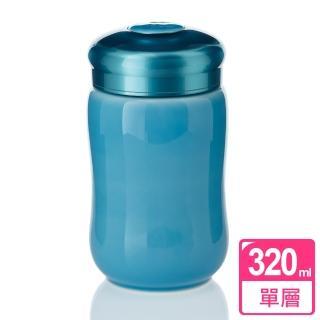 【乾唐軒活瓷】快樂隨身杯 / 海碧 / 小 / 單層