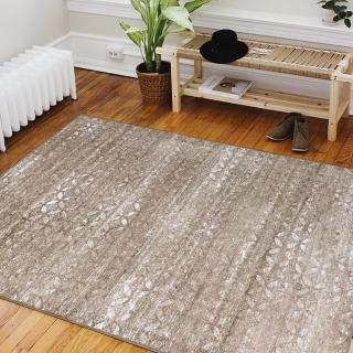 【Ambience】比利時Valentine 玄關/床邊絲毯-懷舊(100x140cm)