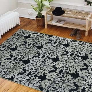 【Ambience】比利時Valentine 玄關/床邊絲毯-大馬士革(100x140cm)
