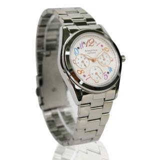 Arseprince 絢麗晶彩經典三眼中性錶
