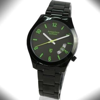【Arseprince】義式幻影時尚中性錶(綠色)