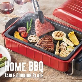 【recolte 日本麗克特】Home BBQ(電燒烤盤 貴族紅)