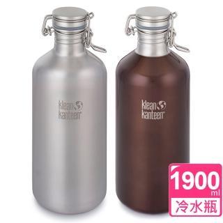 【美國Klean Kanteen】快扣不鏽鋼冷水瓶(1900ml)