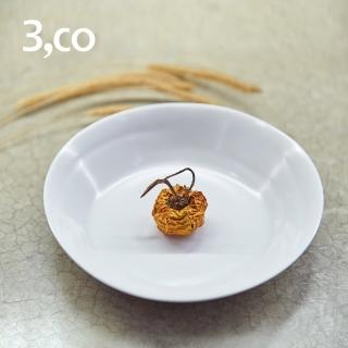【3 co】水波系列點心盤- 白