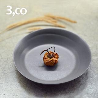 【3 co】水波系列點心盤- 灰