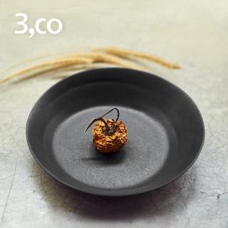 【3 co】水波系列點心盤- 黑