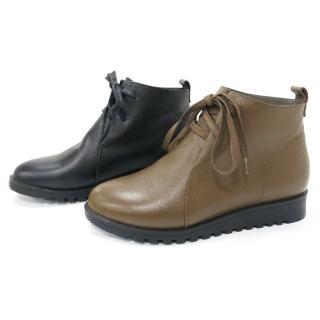 法國pierre cardin極致柔軟牛皮增高靴