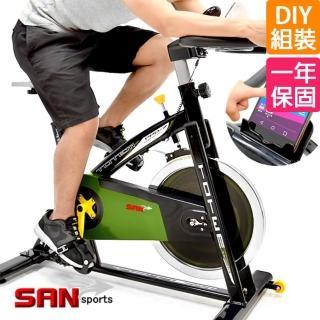 【SAN SPORTS 山司伯特】@ 戰車18KG飛輪健身車-4倍強度(C165-019)