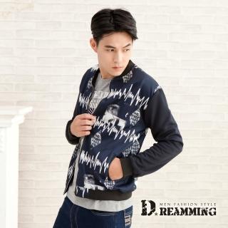 【Dreamming】歐美潮流個性太空棉棒球外套(共二色)