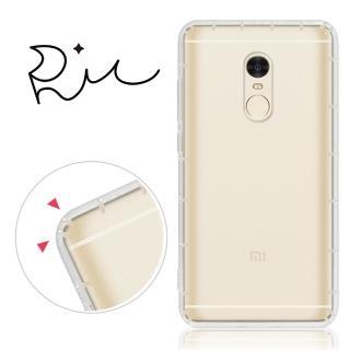 【RedMoon】Xiaomi 紅米 NOTE4 防摔氣墊透明TPU手機軟殼(標準版)