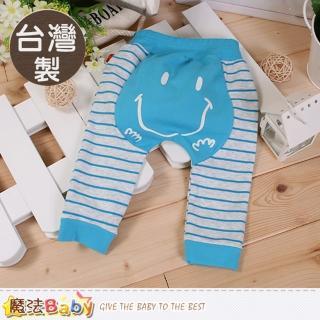 【魔法Baby】寶寶長褲 台灣製嬰幼兒秋冬束口長褲(k60229)