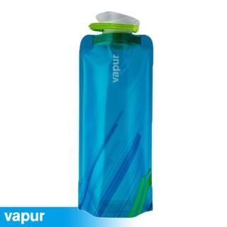【美國Vapur】Element 運動摺疊水袋 0.7L 藍 #10157(運動水壺 摺疊水壺)