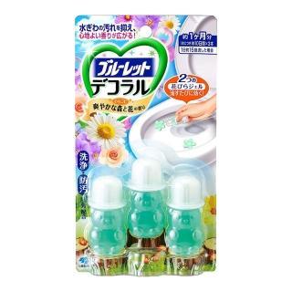 小林製藥馬桶消臭花瓣香氛凝膠(森林花香)7.5g x3入