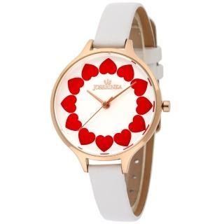 JOSERINEA 愛戀奇蹟皮革時尚腕錶