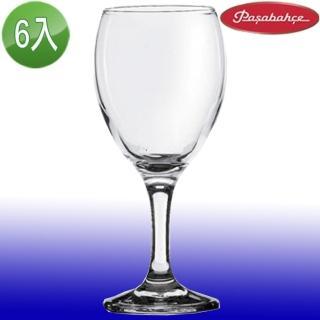 【土耳其Pasabahce】高腳紅酒杯340cc(六入組)