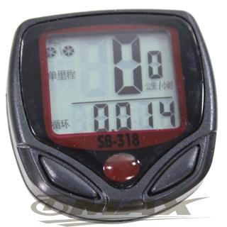 【omax】防水大面板自行車碼表(12H)