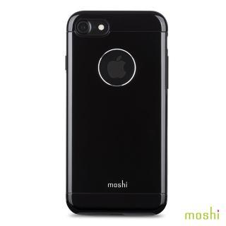 【Moshi】Armour for iPhone 7 曜石黑 鋁製保護背殼