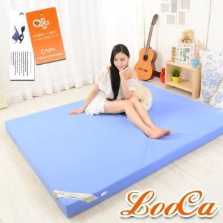 【LooCa】抗菌防蹣防水12cm釋壓記憶床墊(單3尺)