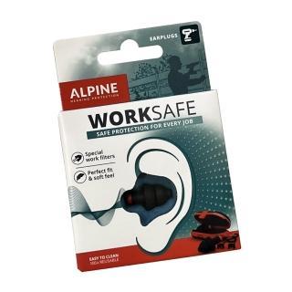 【Alpine】荷蘭原裝進口 Worksafe頂級工作聽力保護耳塞