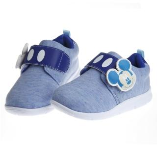 【布布童鞋】Disney迪士尼米奇藍色超輕量舒適休閒鞋(MDX608B)