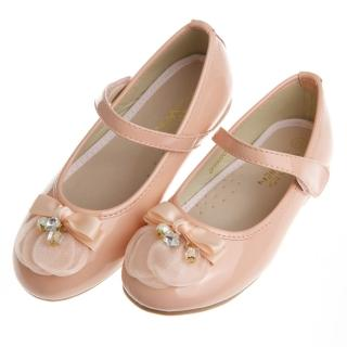 【布布童鞋】Baby View寶貝優璀璨巴黎系列甜心粉亮飾足弓支撐公主鞋(OFW655G)