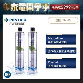 【美國Everpure】原裝進口 S100 愛惠浦家用標準型濾心(2入)