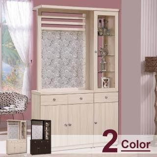 【時尚屋】畢梭爾4尺雙面櫃(G17-A189-3-兩色可選)