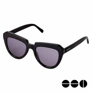【KOMONO】CRAFTED工藝款手工太陽眼鏡 Stella(煙燻黑)