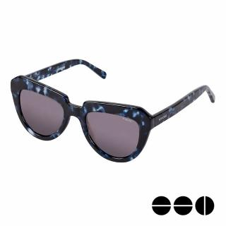 【KOMONO】CRAFTED工藝款手工太陽眼鏡 Stella(迷幻靛藍)