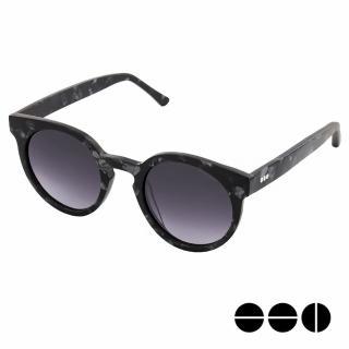 【KOMONO】CRAFTED工藝款手工太陽眼鏡 LULU(黑色大理石)