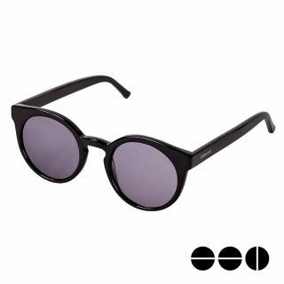 【KOMONO】CRAFTED工藝款手工太陽眼鏡 LULU(煙燻黑)