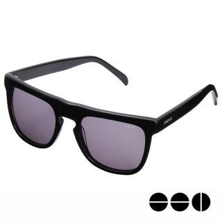 【KOMONO】CRAFTED工藝款手工太陽眼鏡 Bennet(煙燻黑)
