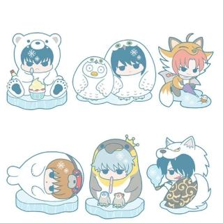 【代理】銀魂 哈達王子與冰雪動物篇 橡膠吊飾 全6種 1中盒6入