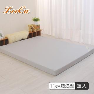 【LooCa】經典超透氣11cm彈力記憶床墊(單人3尺)