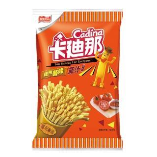 【卡迪那】德州薯條茄汁100G(聯華食品-卡迪那)