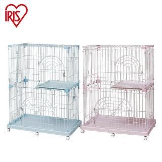 【IRIS】《雙層》可移動式貓籠PEC-902