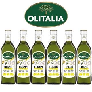 【Olitalia奧利塔】高溫專用葵花油禮盒組(750mlx6瓶)