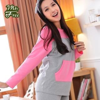 【Ms.Free】MIT精梳棉復古體育服套裝(保暖加厚)